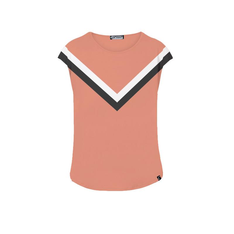 Camiseta Summit coral