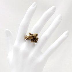 Porca Miseria anillo carpa latón