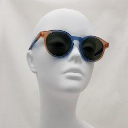 Gafas comel azul-maquillaje