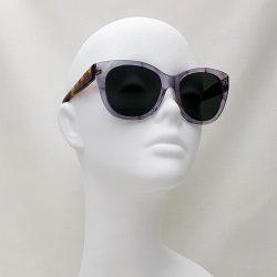 Gafas Judith morado transparente