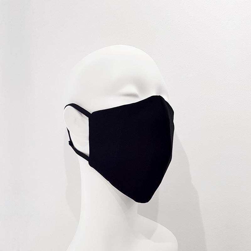 Mascarilla reutilizable algodón negro