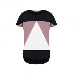 Camiseta Pitágora aequilaterus negro - palo
