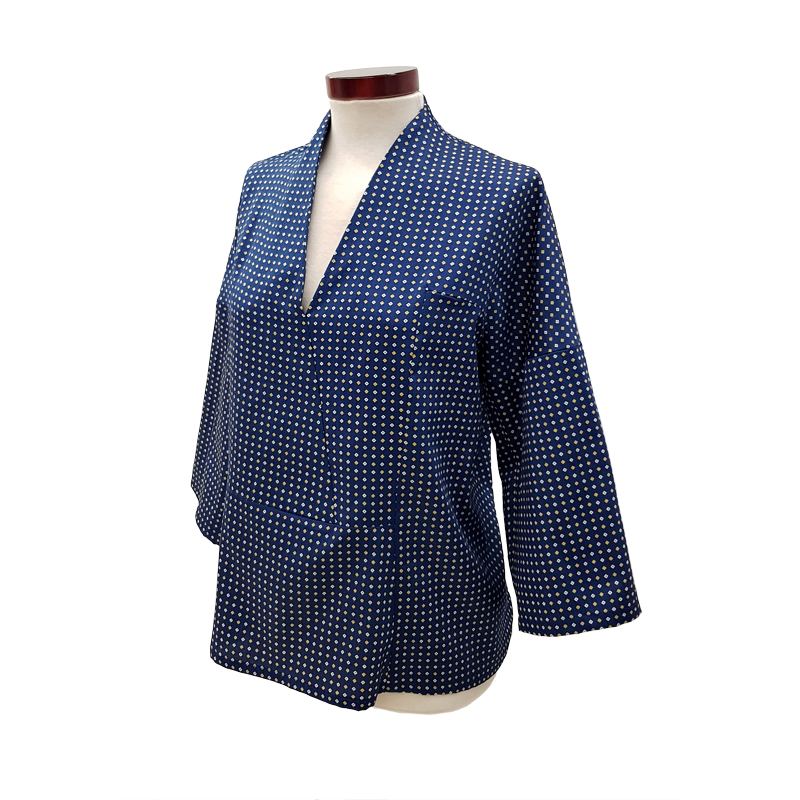 Khoa-blusa-kimono-algodón-azul-lateral