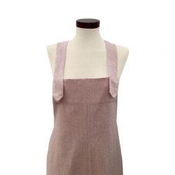 Peto algodón chambray rosado