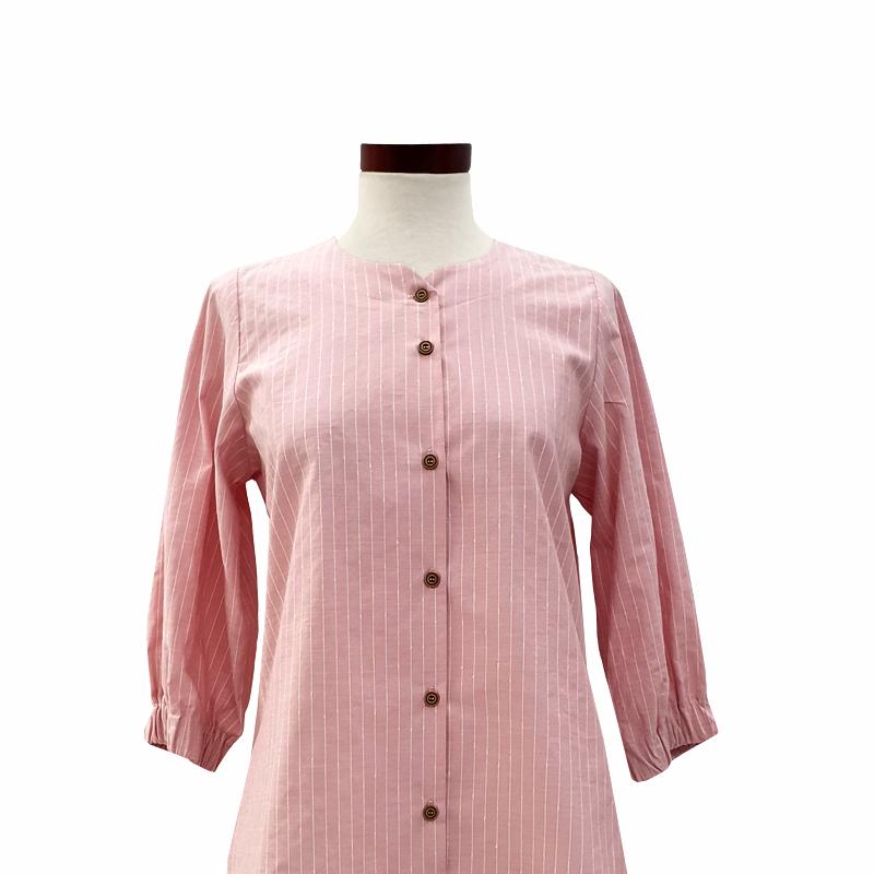 blusa-camisera-algodon-rosa-rayas-detalle
